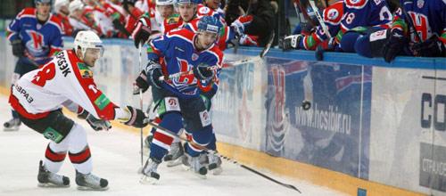 Чемпионат КХЛ: Сибирь - Металлург Н.