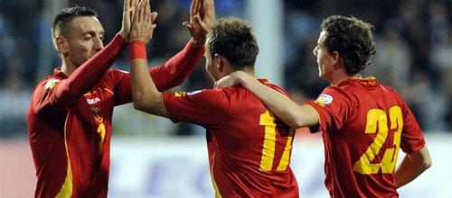 Отборочные матчи на ЧМ 2014, Европа: Молдова - Черногория