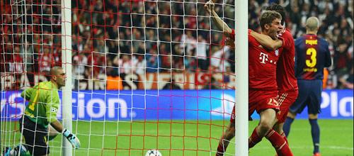 Лига Чемпионов, 1/2 финала, ответный матч: Барселона - Бавария