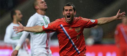 Отборочный матч ЧМ-2014 по футболу: Португалия - Россия