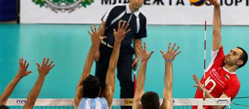 Мировая Лига: Аргентина - Болгария