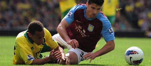 Англия, Премьер-Лига: Норвич - Астон Вилла