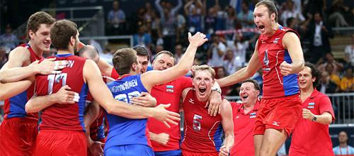 ЧЕ, Полуфинал: Россия - Сербия