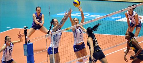 Чемпионат Европы, 1/2 финала: Россия - Сербия
