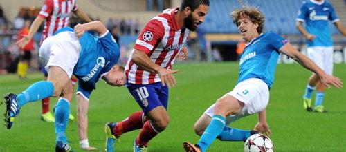 Лига Чемпионов: Зенит - Атлетико Мадрид