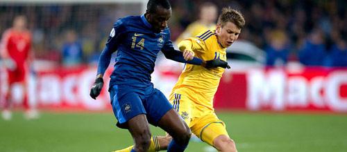 Плей-офф отборочного турнира к ЧМ 2014: Франция - Украина