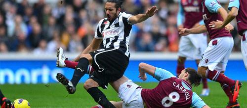 Английская Премьер-лига: Вест Хэм - Ньюкасл