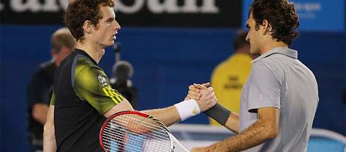 Australian Open: Энди Маррей - Роджер Федерер