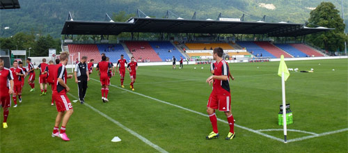 Чемпионат Швейцарии: Вадуц - Лугано