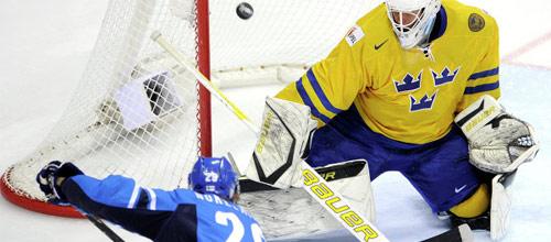 Олимпиада в Сочи: Швеция - Финляндия