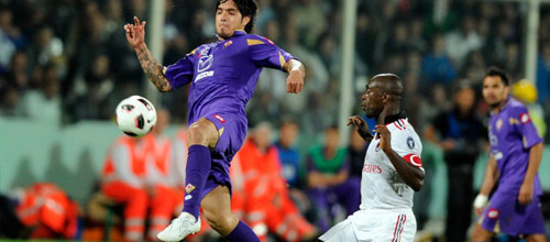 Чемпионат Италии: Фиорентина - Милан