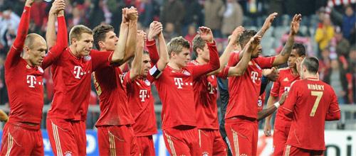 Лига чемпионов бавария мюнхен