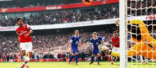 Чемпионат Англии: Эвертон - Арсенал