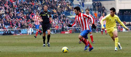Чемпионат Испании: Атлетико Мадрид - Вильярреал
