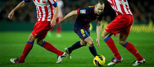 ЛЧ: Барселона - Атлетико Мадрид