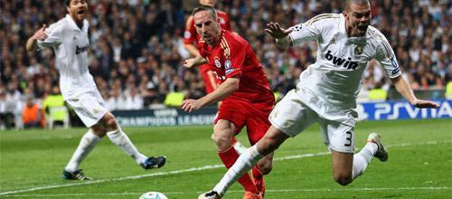 Лига Чемпионов: Реал Мадрид - Бавария М