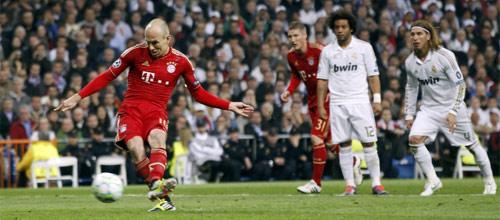 Лига Чемпионов УЕФА: Реал Мадрид - Бавария Мюнхен