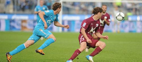 Российская Премьер-Лига: Зенит - Рубин