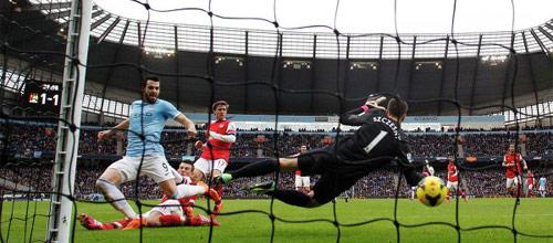 Английская Премьер-Лига: Арсенал - Манчестер Сити