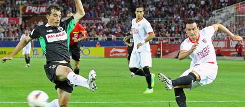 Чемпионат Испании: Севилья - Реал Сосьедад