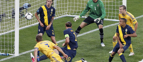 Чемпионат Европы, квалификация: Украина - Македония