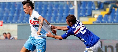 Чемпионат Италии: Сампдория - Наполи