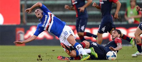 Италия, Серия А: Сампдория - Кальяри