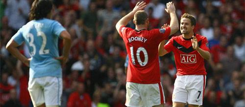 Английская Премьер-Лига: Манчестер Юнайтед - Манчестер Сити