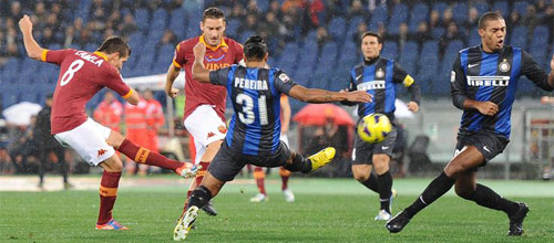 Чемпионат Италии: Интер - Рома