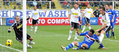 Италия, Серия А: Сампдория - Чезена