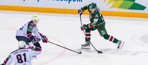 Континентальная хоккейная лига: Сибирь - Ак Барс