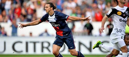 Франция, Первая лига: ПСЖ - Генгам