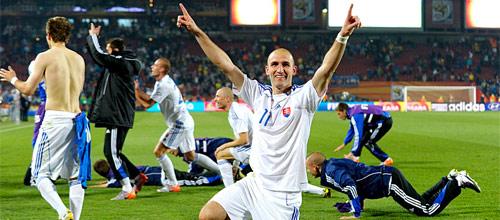 Чемпионат Европы 2016, квалификация: Испания - Словакия