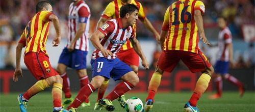 Чемпионат Испании: Атлетико Мадрид - Барселона