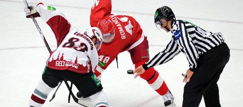 Чемпионат КХЛ: Динамо Рига - Витязь