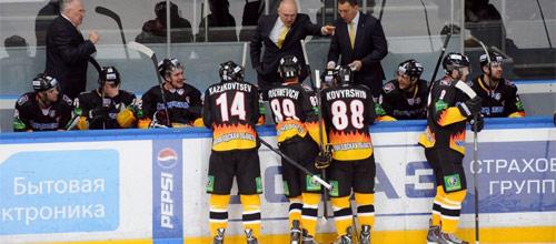 Чемпионат КХЛ: Северсталь - Автомобилист