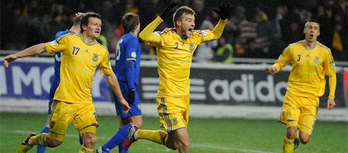 Евро 2016, квалификация: Украина - Беларусь