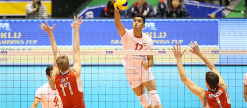 Кубок Мира, мужчины: США - Иран