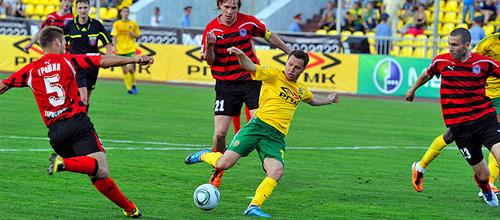 Российская Премьер-Лига: Амкар - Кубань