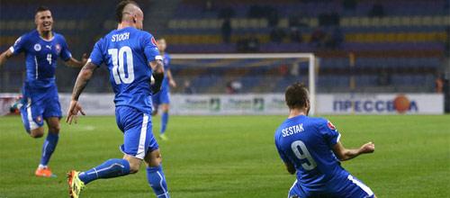 Евро-2016, квалификация: Словакия - Беларусь