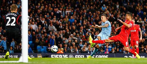 Англия, Премьер-лига: Манчестер Сити - Ливерпуль