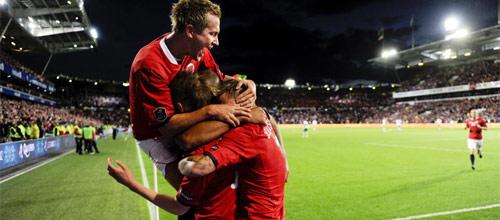 Евро-2016, отборочные матчи: Норвегия - Венгрия