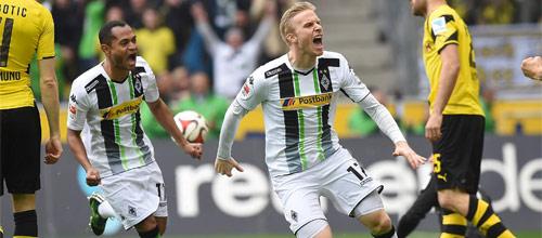 Чемпионат Германии: Боруссия Менхенгладбах - Боруссия Дортмунд