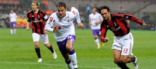 Чемпионат Италии: Милан - Фиорентина