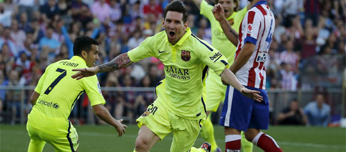 Испания, Примера: Барселона - Атлетико Мадрид