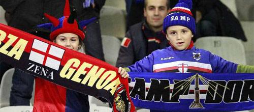 Италия, Серия А: Дженоа - Сампдория