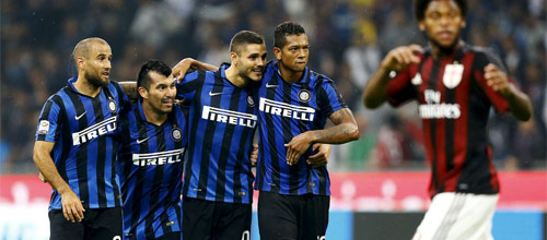 Итальянская Серия А: Милан - Интер