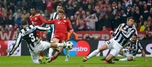 Лига Чемпионов: Ювентус - Бавария