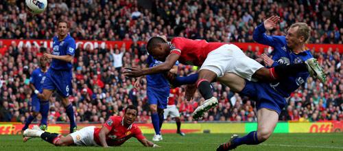 Английская Премьер-лига: Манчестер Юнайтед - Эвертон