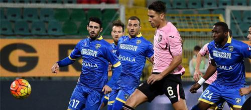 Италия, Серия А: Фрозиноне - Палермо
